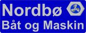 Nordbø Båt og Maskin Logo